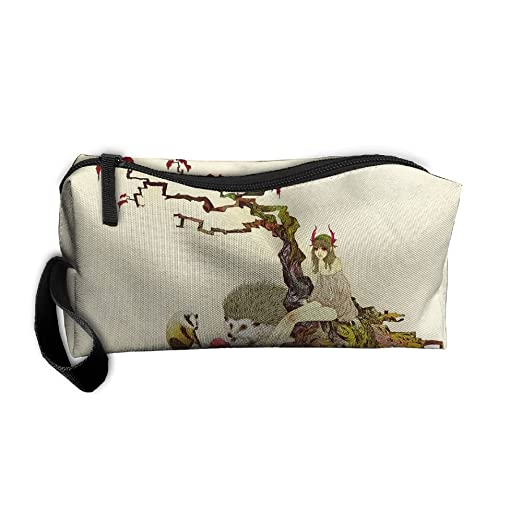 5d57d6d33f65 Amazon.com: Portable Travel Cosmetic Toiletry Clutch Bag Organizer ...