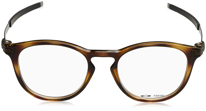 1af18ba0c7 Amazon.com  Oakley Designer Eyeglasses Pitchman R OX8105-0350 in  Brown-Tortoise 50mm DEMO LENS  Clothing
