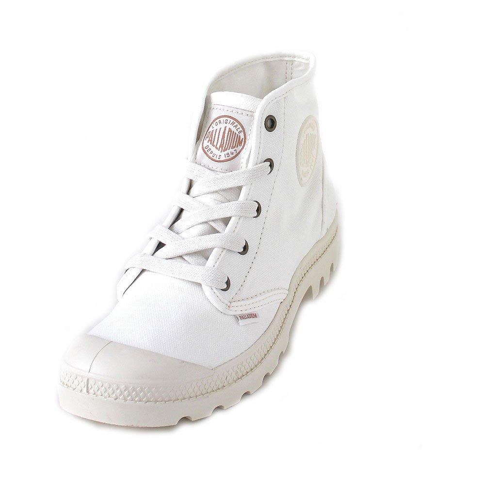 Palladium Womens Pampa Hi Canvas Boots B079Y9RY25 7 B(M) US|Marshmallow