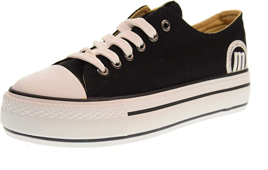 MTNG Shoes Woman Low Platform Sneakers