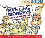 Five Little Monkeys Bake a Birthday C...