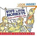 Five Little Monkeys Bake a Birthday Cake (A Five Little Monkeys Story)