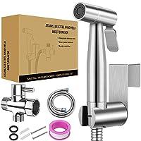Handheld Bidet Toilet Sprayer SROSS Handheld Bidet Sprayer for Toilet with Adjustable...