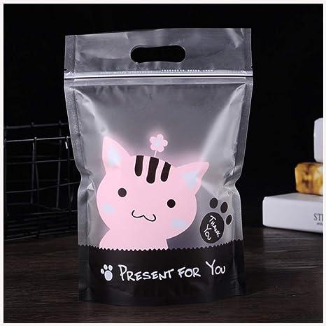 50 bolsas transparentes pequeñas para panadería ...