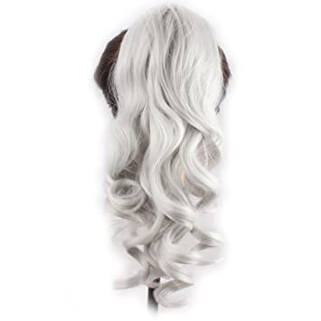 Amazon Com Weken Hair Ponytail Claw In Hair Extension Long Curly