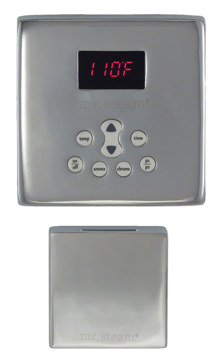 Mr. Steam Ms Etplus Sq-bb eTempo-plus Time & Temperature Control, Brushed Bronze by Mr. Steam