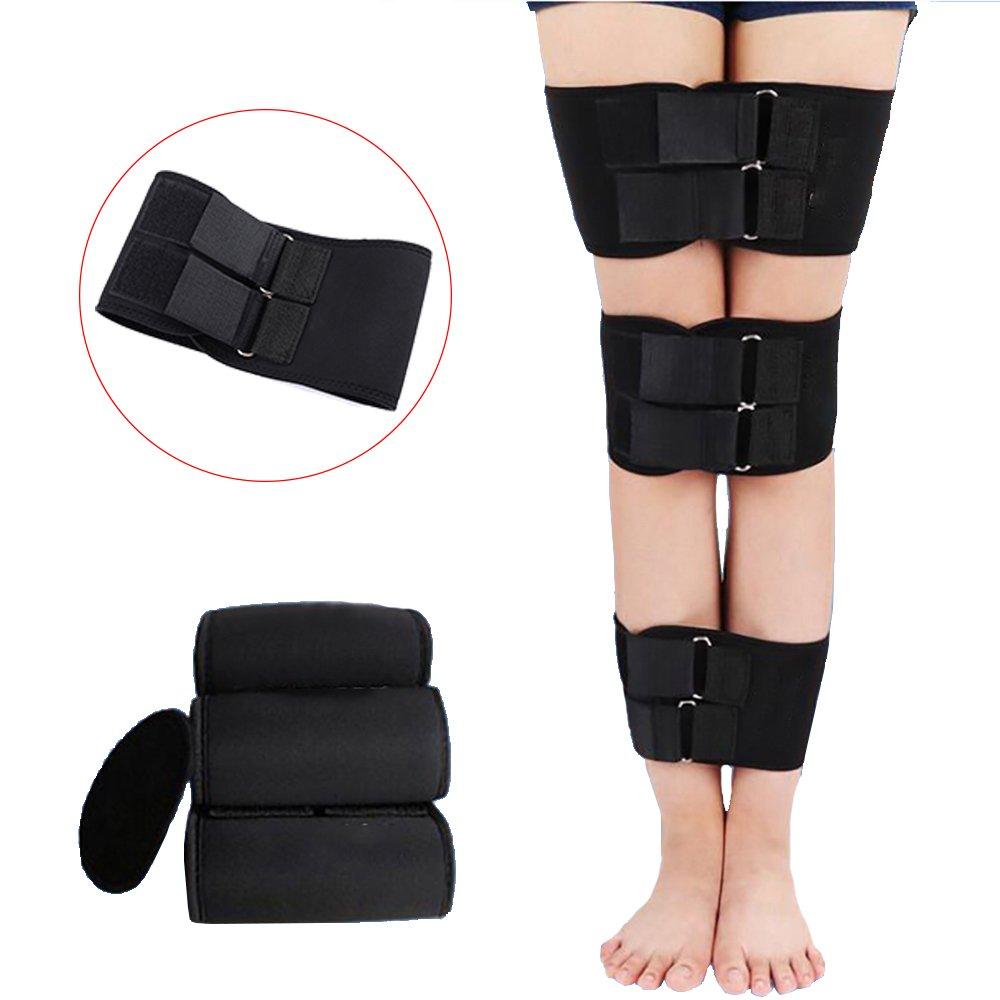 Enshey Legs Corrector Belt Band Straighten Belt Durable Material Leg Correction Device for XO-Type Leg 3 Pcs Set by Enshey