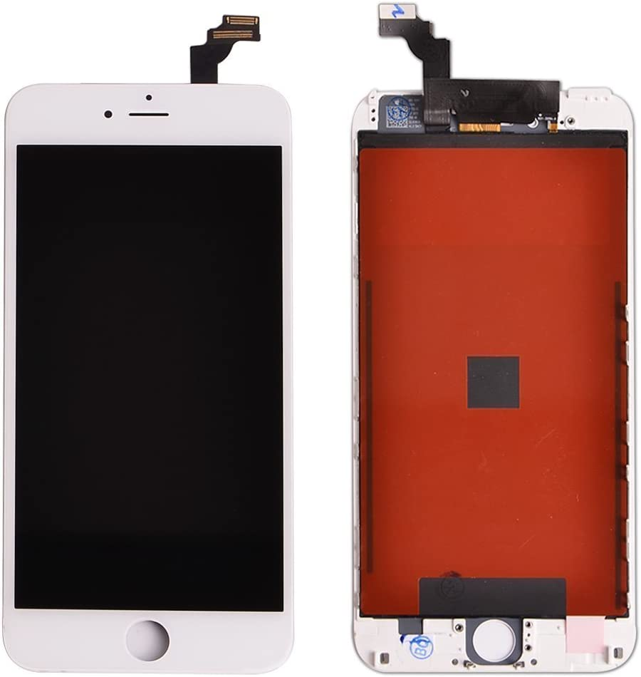 ZTR LCD Touch Screen Digitizer Frame Assembly Full Set LCD Touch Screen Replacement for iPhone 6 4.7 inch Black