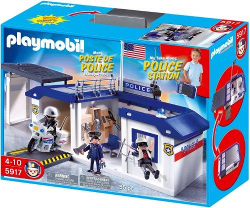 Playmobil Take Along Police Station Playset Buy Online
