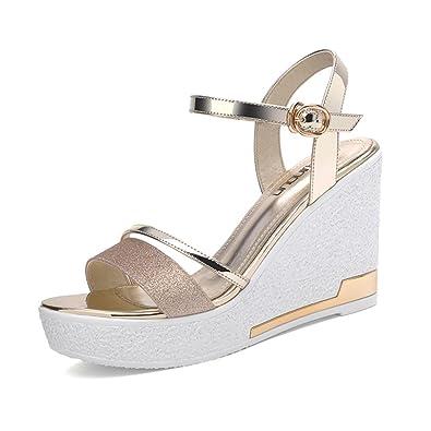 Sandalen Damen Schuhe TOP Leichte 6430 Silber 38