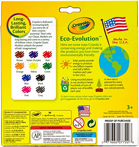 Crayola Classic Markers Discontinued manufacturer