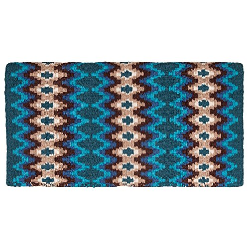Mustang Mohair Woven Navajo Saddle Blanket -