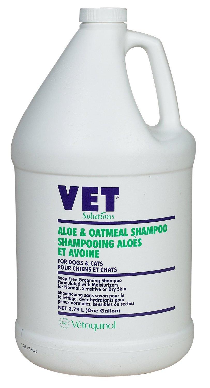 Vetoquinol 411391 Aloe & oatmeal shamp ,Gal by Vetoquinol