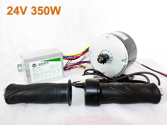 Amazon.com: l-faster 24 V 36 V 350 W eléctrico DC motor ...