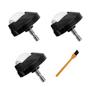 3PCS Rueda Delantera para iRobot Roomba 980 960 966 886 880 860 770 780 650 -