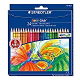 Staedtler 144NC24 Noris Club Colouring Pencils - Assorted Colours, Pack of 24 Bild