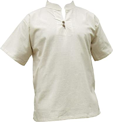 Panasiam® - camisas y pantalones Naturales, 100% algodón no tratado, tallas de la S a la L (es necesario que compres una talla más grande de lo habitual): Amazon.es: Ropa y accesorios