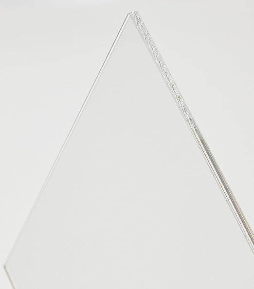 Acryl-Zuschnitt//Plexiglas-Platte transparent 30 x 20 cm 3mm XT