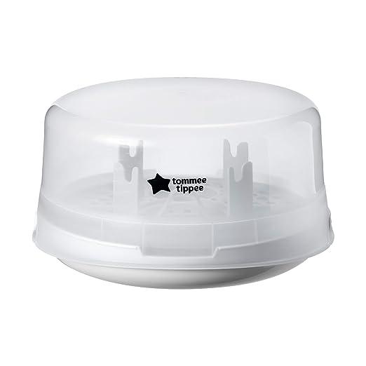 Milton Esterilizador Combi para microondas y agua fr/ía blanco, 26 x 26 x 16 cm