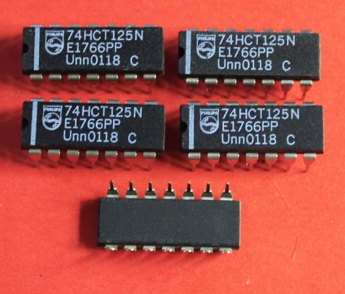 Microchip  Lot of 10 pcs 74HCT125N Philips  IC