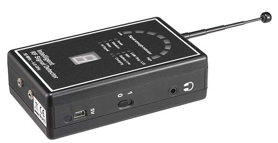 Spy Matriz Pro-Max ley grado profesional seguridad detector de Bug - la última mano Bug barrido para detección de GPS rastreadores, todos RF transmisores, ...