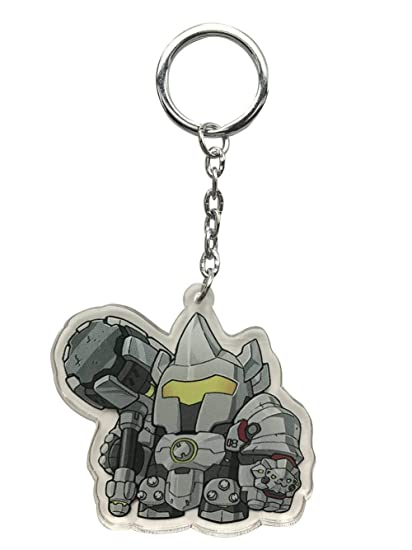 Wildforlife Overwatch Cute Acrylic Keychain (Reinhardt Single-Sided)