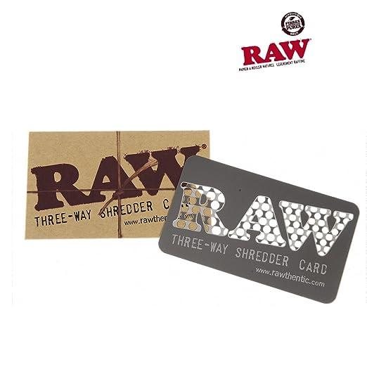 Grinder tarjeta Raw Shredder Card - Raw: Amazon.es: Hogar