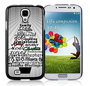 Fantastic Design Samsung S4 TPU Protective Skin Cover Christmas Tree Black Samsung Galaxy S4 i9500 Case 7