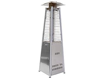 Traedgard® Estufa de gas 14030 Gomera para exterior, de acero inoxidable, incluye motor de arranque: Amazon.es: Jardín