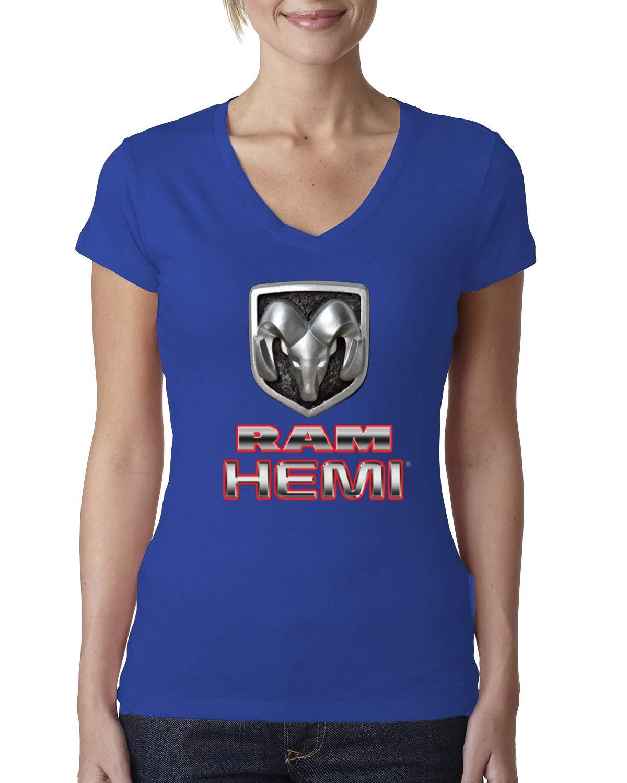 Dodge Ram Hemi Retro Vintage Emblem Cars And Trucks Vneck Ts Shirts