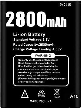 2800mAh Batería de Respaldo para Smartphone Duoduogo J3: Amazon.es ...