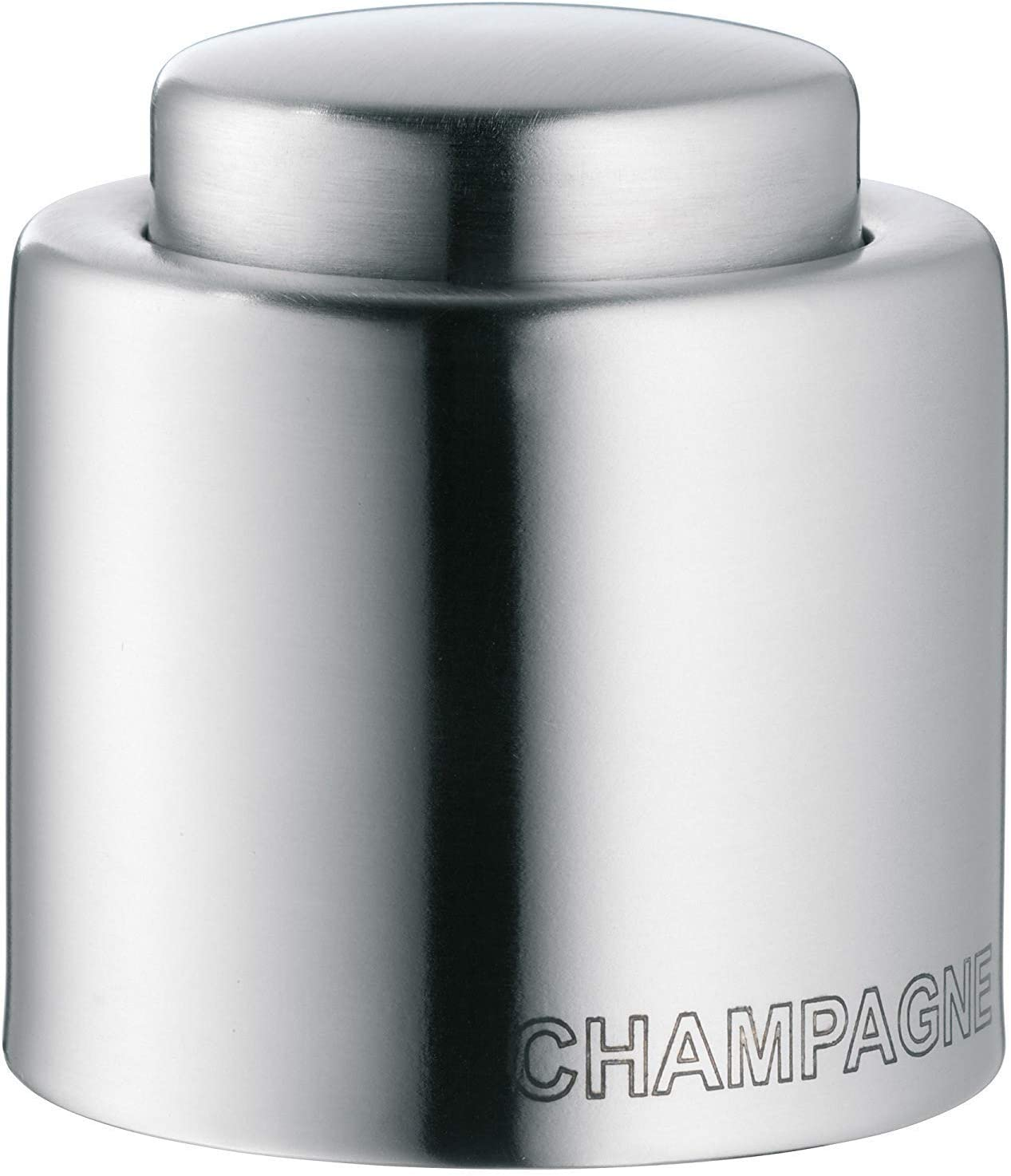 Silver Stainless Steel WMF Clever /& More Champagne Bottle Seal