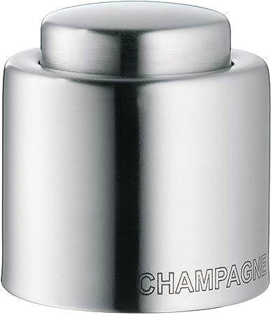 El sello de champán se asienta firmemente en la parte superior de la botella,Envuelto en caja de reg