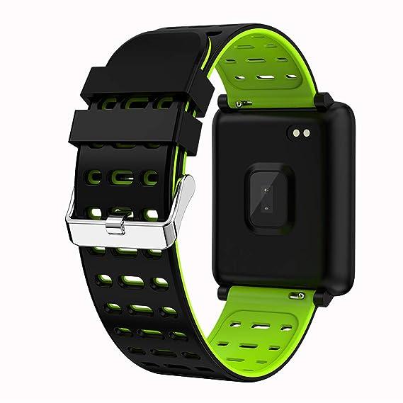 POJIETT Relojes Deportivos Inteligentes Hombre Mujer Niño Niña Impermeable Reloj Bluetooth Deporte iOS y Android Pulsera de Actividad Monitor de Ritmo ...