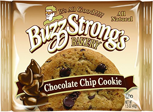 Buzz Strong's 1.5 Oz Whole Grain Chocolate Chip Cookie, Case of 60