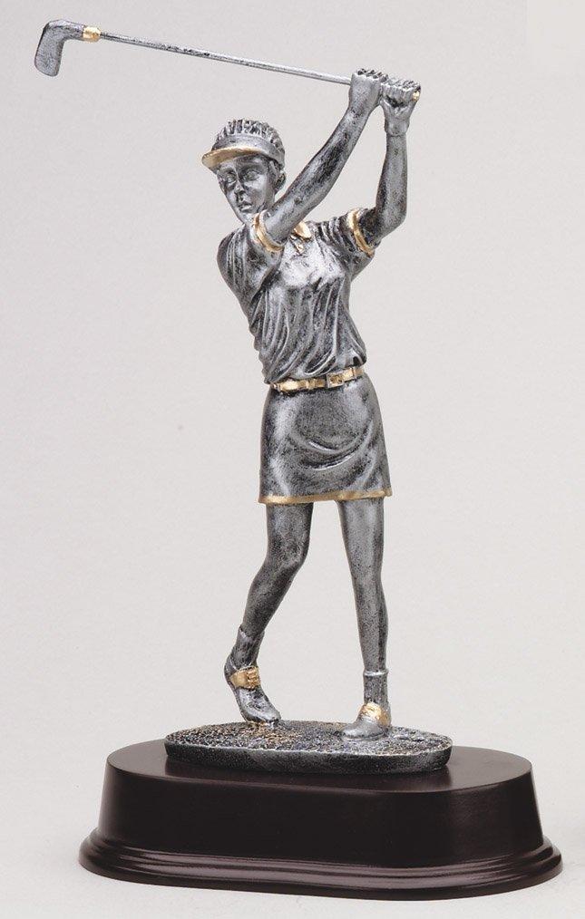 エッチングWorkzカスタマイズゴルフスイングAward – rf2056sgシリーズ樹脂ゴルフトロフィー – Includes 3行の彫刻 – ゴールドメッキ& Personalizedフリー B07FXCN7DM