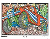The Original DoodleArt by PlaSmart - Mini Kit 2, Adult Coloring, Four 11