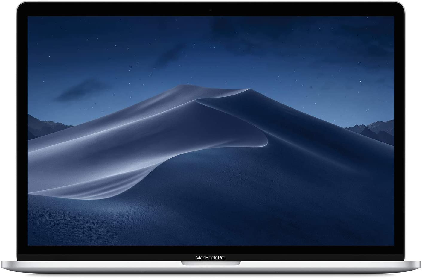 "Apple 15.4"" MacBook Pro Retina Display, Touch Bar, 2.2GHz ,Intel Core i7 Six-Core, 16GB RAM, 256GB SSD - Silver (Renewed)"