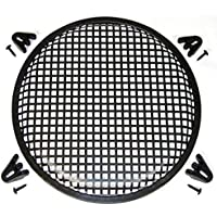 ADSRO 15Waffle Speaker Sub Woofer Metal Grills With Clips And Screws