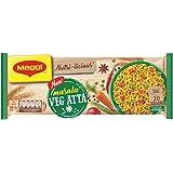 MAGGI NUTRI-LICIOUS Veg Atta, Masala Noodles – (Pack of 4) 290g Pouch