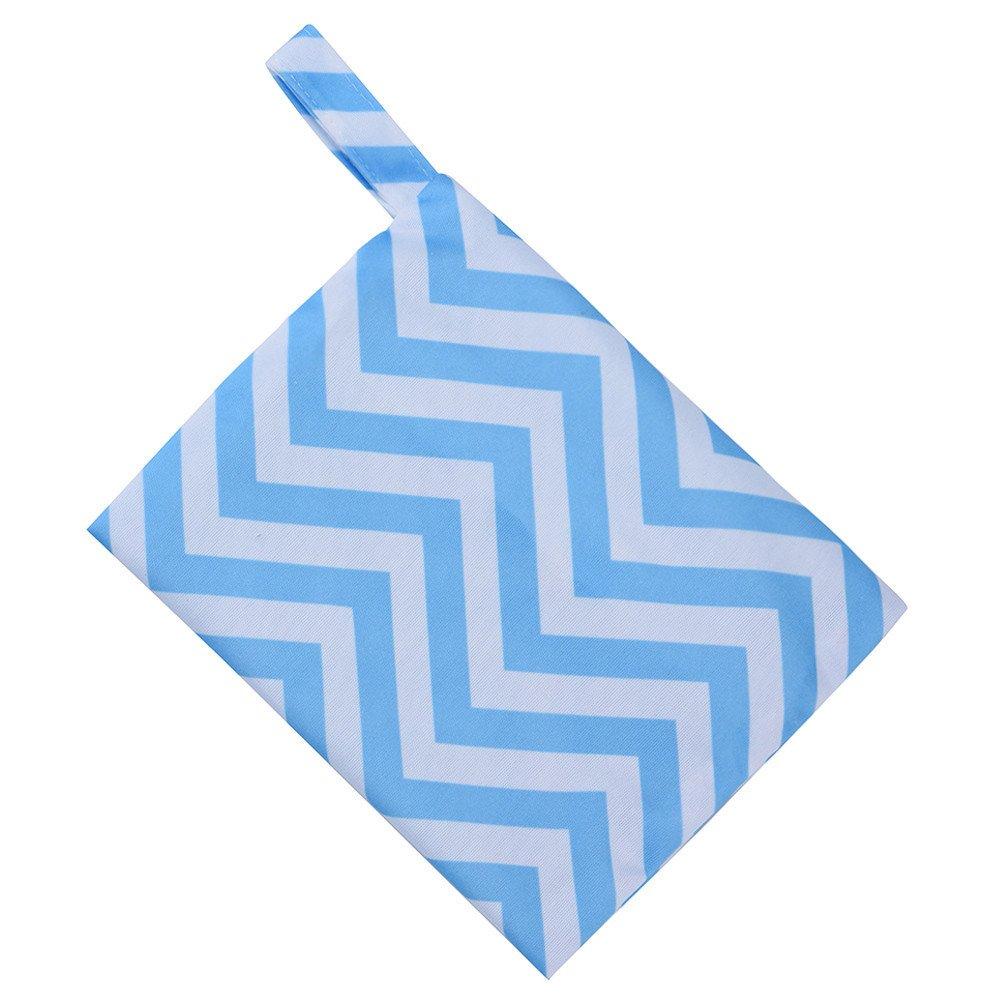 Holata Wet Bag Reusable Washable Wet Bag for Sanitary Pad Menstrual Sanitary Aunt Bag (I)