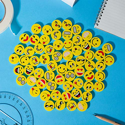 Mr. Pen- Erasers, Pack of 64, Emoji Eraser, Pencil Erasers, Erasers for Kids, School Supplies, Mini Eraser Pencil for Students, Fun Eraser, Cute Erasers, Eraser for School, Prizes for Kids Classroom Photo #8