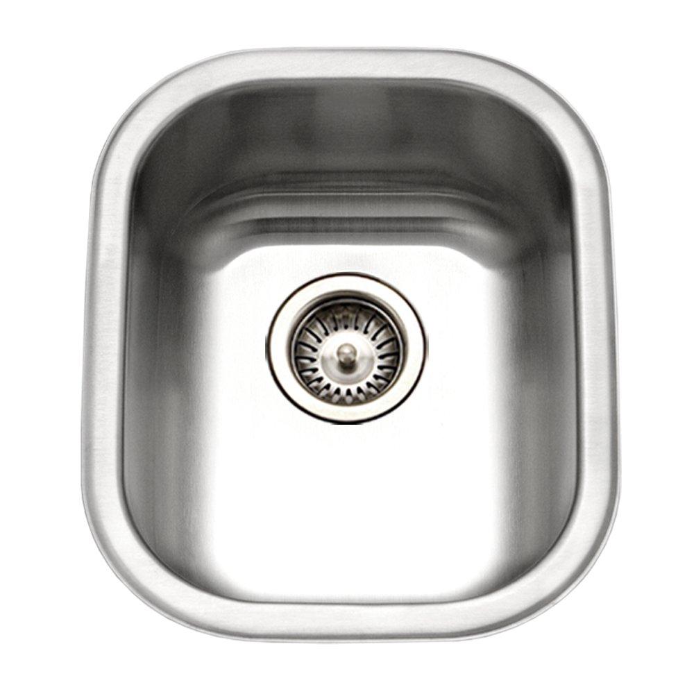 Houzer CS-1607-1 Club Series Undermount Large Bowl Bar/Prep Sink