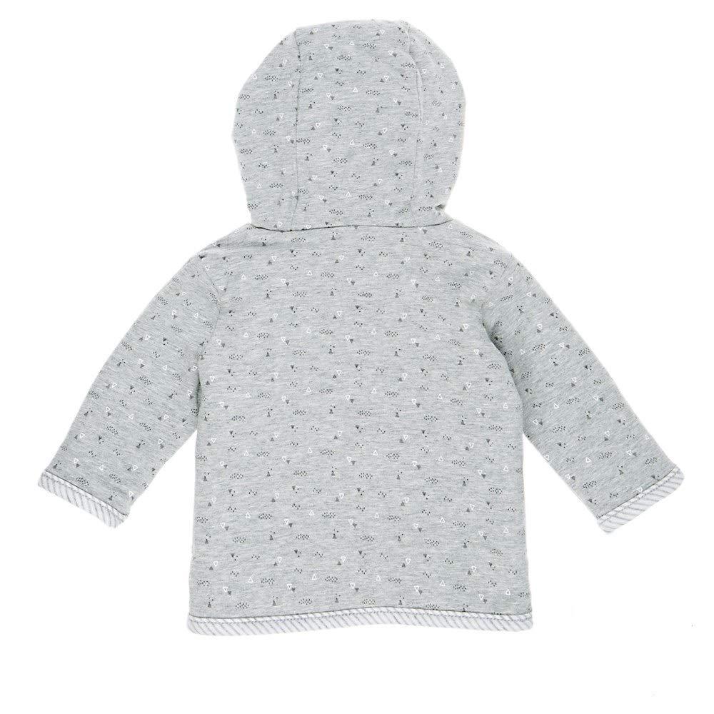Feetje Baby-Jungen Wendejacke Pl/üschjacke mit Kapuze 518.00176