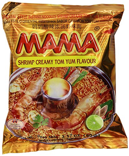 - Mama Instant Noodle, Creamy Tom Yum Spicy Flavor, 3.17 Ounce (Pack of 20)
