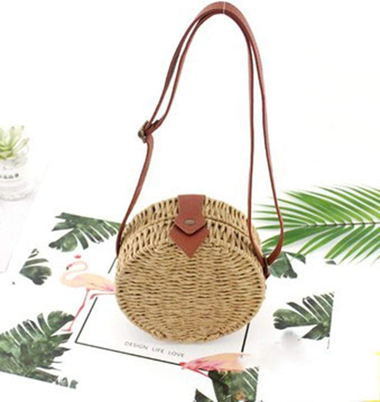 Women Summer Rattan Bag...