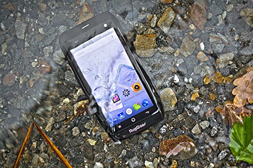 RugGear RG730, Unlocked Rugged Smartphone, Waterproof and Dustproof IP68, Shock Proof - 4G LTE Android (LTE in USA, Latin & Caribbean Bands)
