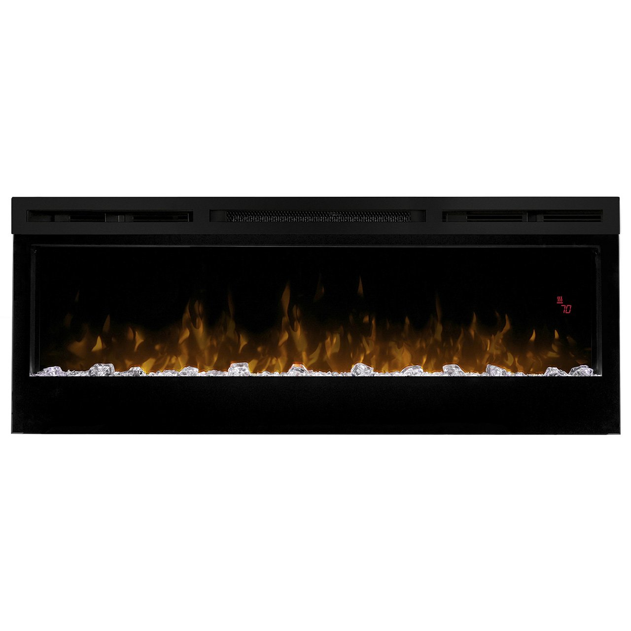 amazon com dimplex prism wall mount linear electric fireplace