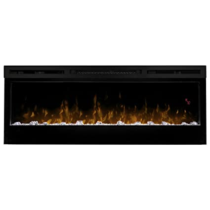 Amazoncom Dimplex Prism Wall Mount Linear Electric Fireplace