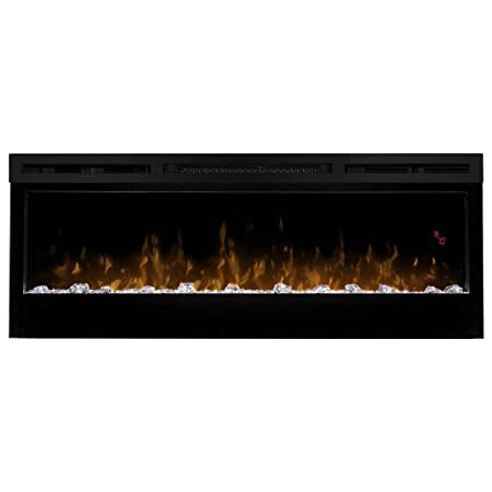 dimplex prism wall mount linear electric fireplace insert black rh amazon co uk Contemporary Wall Mount Electric Fireplaces Best Wall Mount Electric Fireplace